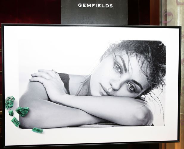 Mila Kunis at the Gemfields Campaign Launch in New York, America - 3 February 2014