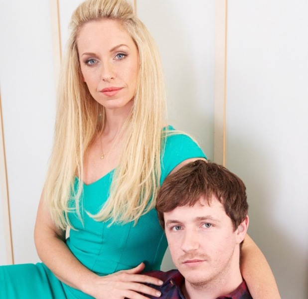 Josie Gibson and brother Harry for Reveal magazine, February 2014
