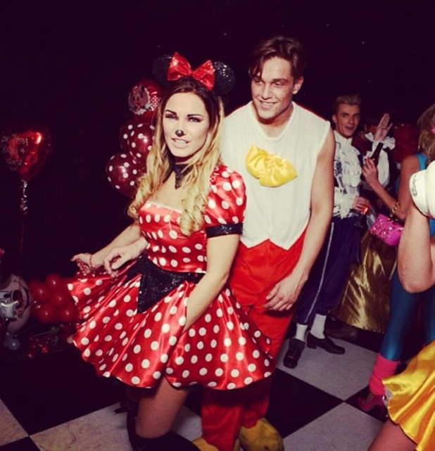 Sam Faiers uploads more photos from her Disney themed 23rd party in January 2014, including photos with mum Suzanne, nanny Wendy, Harry Derbidge and Lewis Bloor.