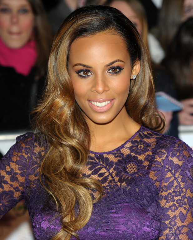 Rochelle Humes, The National Television Awards 2014 (NTA's) held at the O2 Arena - Arrivals, 22 January 2014