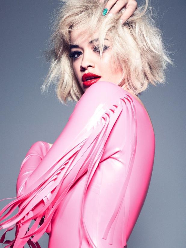 Rita Ora poses for Rimmel London campaign - February 2014