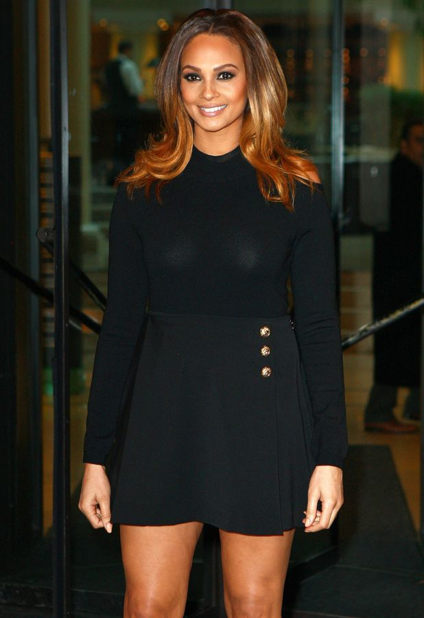 Alesha Dixon leaves her hotel before heading to the Britain's Got Talent auditions in Birmingham - 3 February 2014