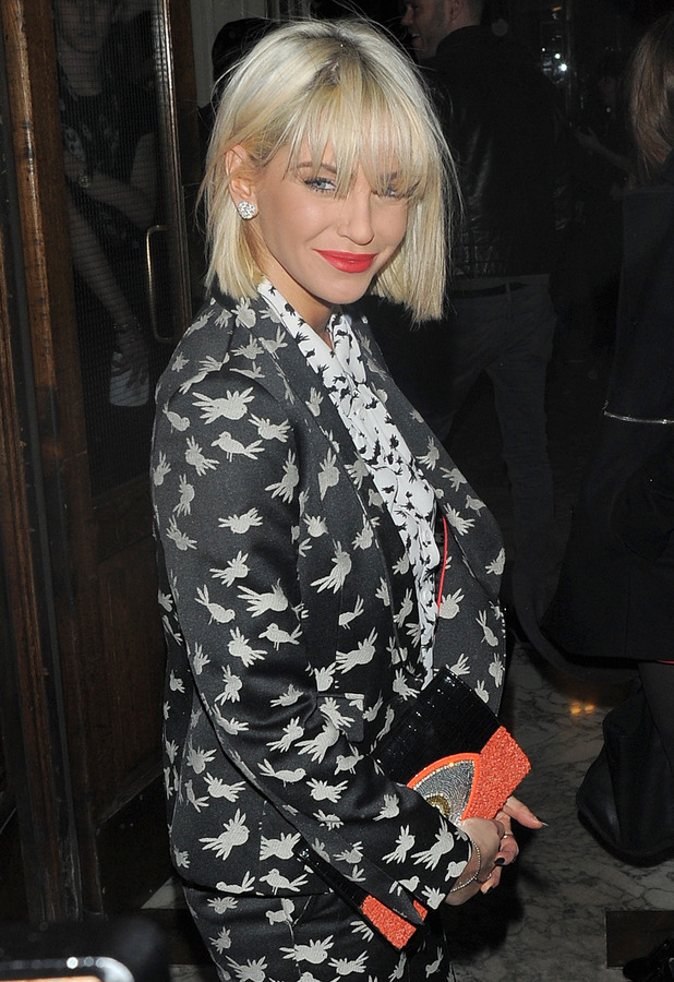 Sarah Harding at the Best of British Talent Party in London, England - 4 February 2014