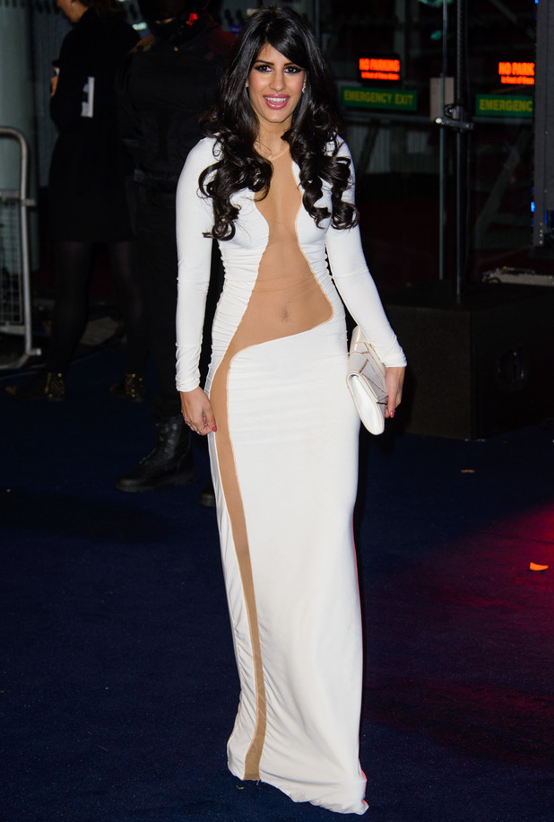 Jasmin Walia at the world premiere of 'Robocop' at the BFI IMAX - Arrivals - 5 Feb 2014