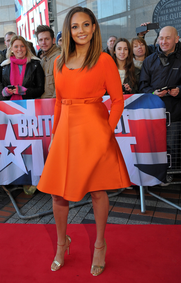 Britain's Got Talent auditions in Birmingham, Alesha Dixon - 2.2.2014