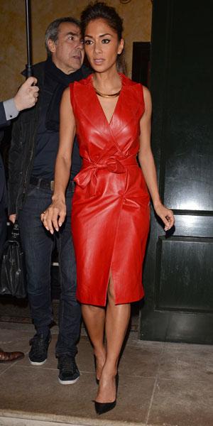 Nicole Scherzinger at a private dinner organized by Sony Music, London, Britain - 04 Feb 2014