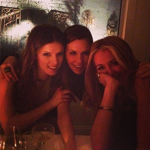 Cat Deeley, Anna Kendrick and Monique Lhuillier go out together in New York - 9 February 2014