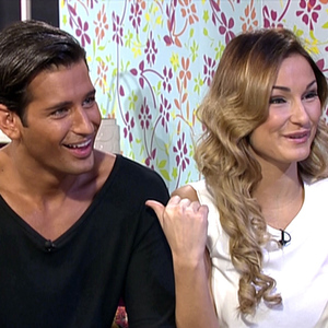 The Celebrity Big Brother finalists, Sam Faiers and Ollie Locke, appear on 'This Morning' to talk about their time in the house. 31 January 2014.