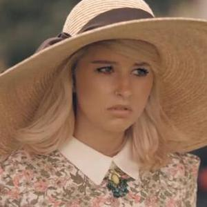 Made In Chelsea's Phoebe-Lettice Thompson in series six - 2013.