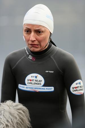 BT Sport Relief Challenge: Davina McCall - Beyond Breaking Point Cumbria, 10.2.2014