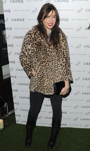 Daisy Lowe at the Caudalie party