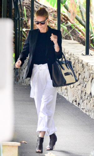 Gwen Stefani baby shower, Los Angeles, America - 08 Feb 2014 Gwyneth Paltrow