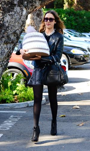 Gwen Stefani baby shower, Los Angeles, America - 08 Feb 2014 Jessica Alba