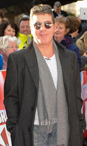 Simon Cowell at the Britain's Got Talent London auditions held at Hammersmith Apollo - Arrivals 02/11/2014