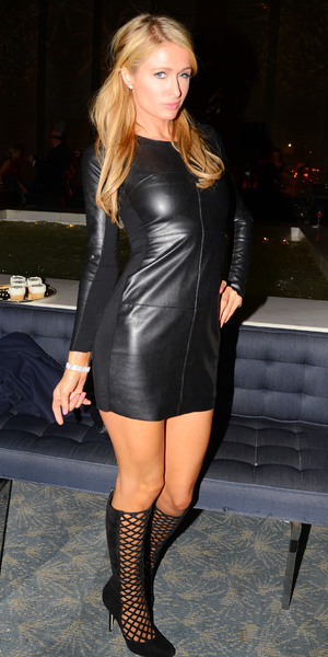 Paris Hilton celebrates Matthew Mellon's 50th Birthday, New York, America - 11 February 2014