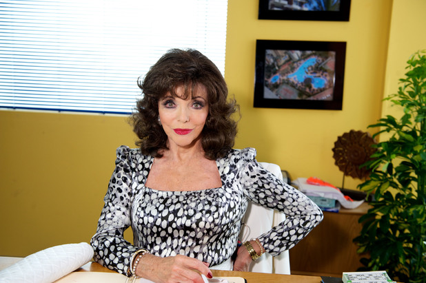 Benidorm, Joan Collins, Thu 13 Feb
