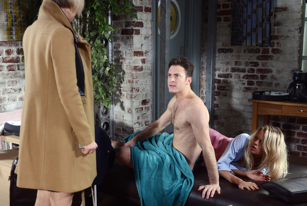 EastEnders, Lucy and Danny caught out, Tue 11 Feb