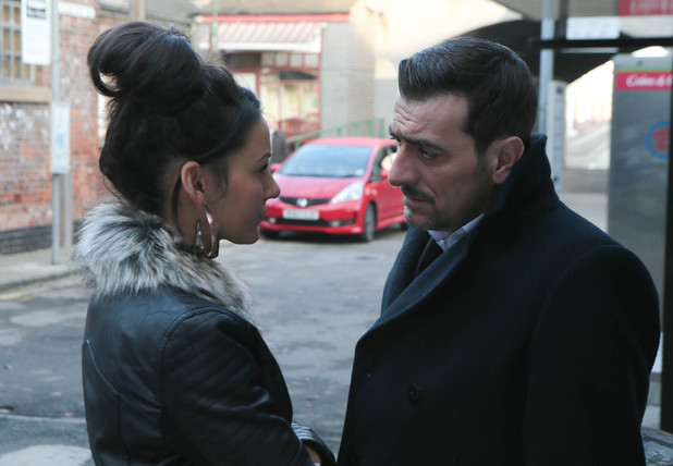 Corrie, will Tina leave?, Wed 12 Feb