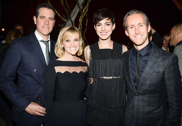 Great American Songbook Event Honoring Bryan Lourd, Lincoln Center, New York, America - 10 Feb 2014 Reese Witherspoon, Anne Hathaway