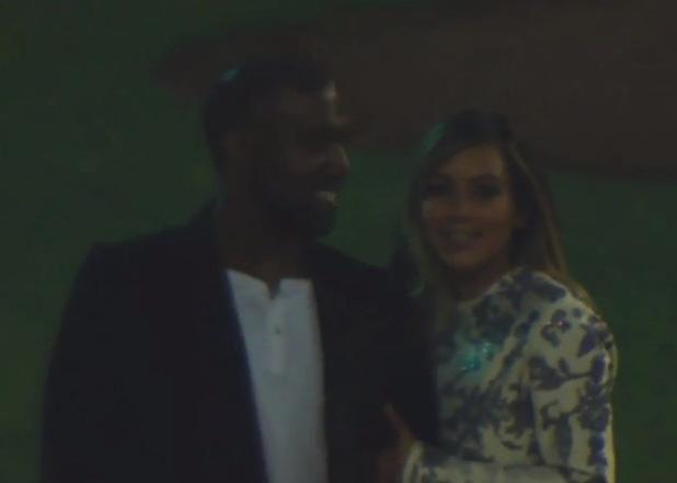 Kim Kardashian, Kanye West proposal at San Francisco baseball stadium [teaser clip screenshot] - October 2013