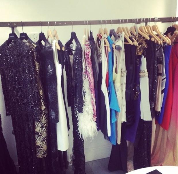 Millie Mackintosh clothes rail