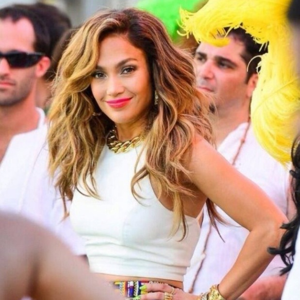 Jennifer Lopez shoot music video for World Cup anthem 'We Are One' - 10.2.2014