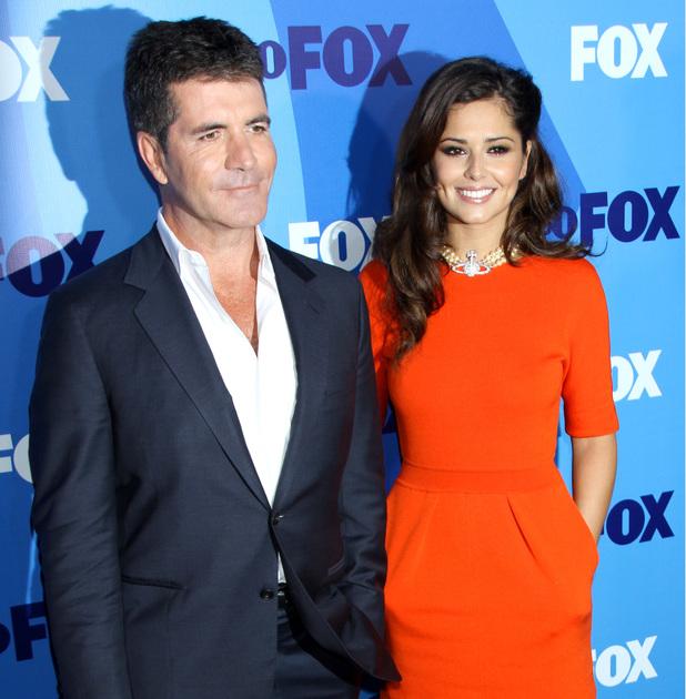 2011 Fox Upfront Presentation, New York, America - 16 May 2011 Simon Cowell and Cheryl Cole
