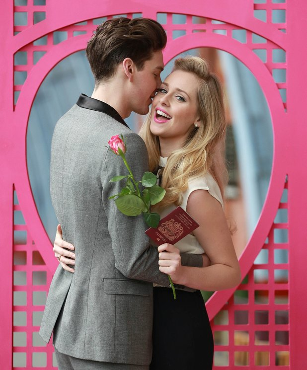 Diana Vickers and her boyfriend, model George Craig launch lastminute.com's Valentine's Day competition - 13.2.2014