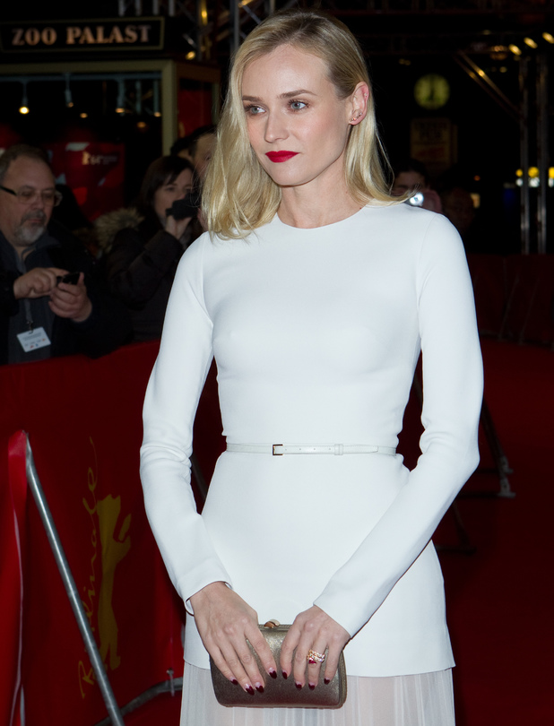 Diane Kruger, Premiere of The Better Angels, 64th Berlin International Film Festival, (Berlinale), at the Zoo Palast, 10 February 2014