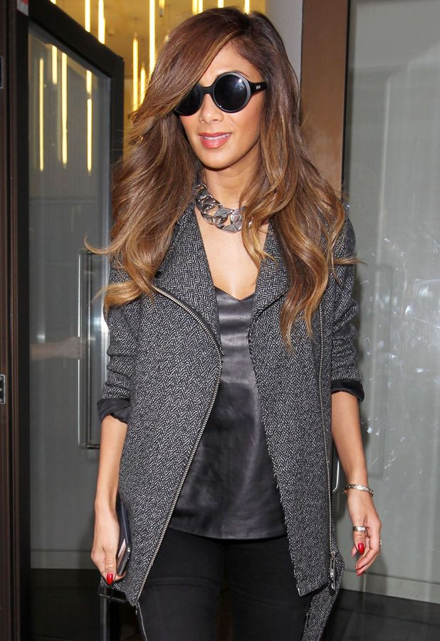 Nicole Scherzinger out in London, England - 7 February 2014
