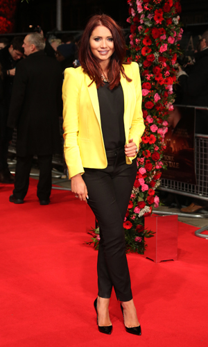 Amy Childs - A New York Winter's Tale premiere held at Odeon Kensington - Arrivals 02/13/2013. London, United Kingdom/