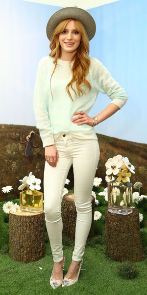 Bella Thorne attends Marc Jacobs pop-up shop on 7 February 2014