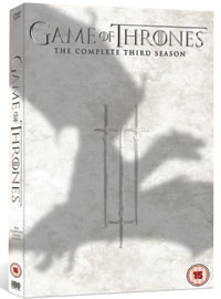 Game Of Thrones series three, out  on Blu-ray and DVD from HBO Home Entertainment on 17 February.