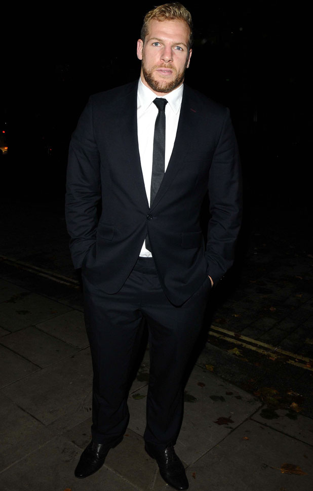 James Haskell, Co-operative Be Inspired gala dinner, London, Britain - 10 Oct 2013
