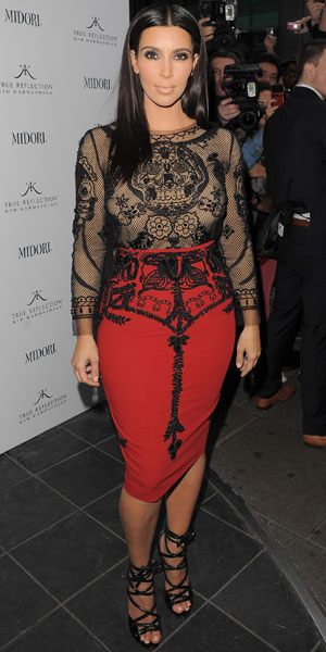 Kim Kardashian promotes her fragrance 'True Reflection' at the Rose Club London, England - 18.05.12