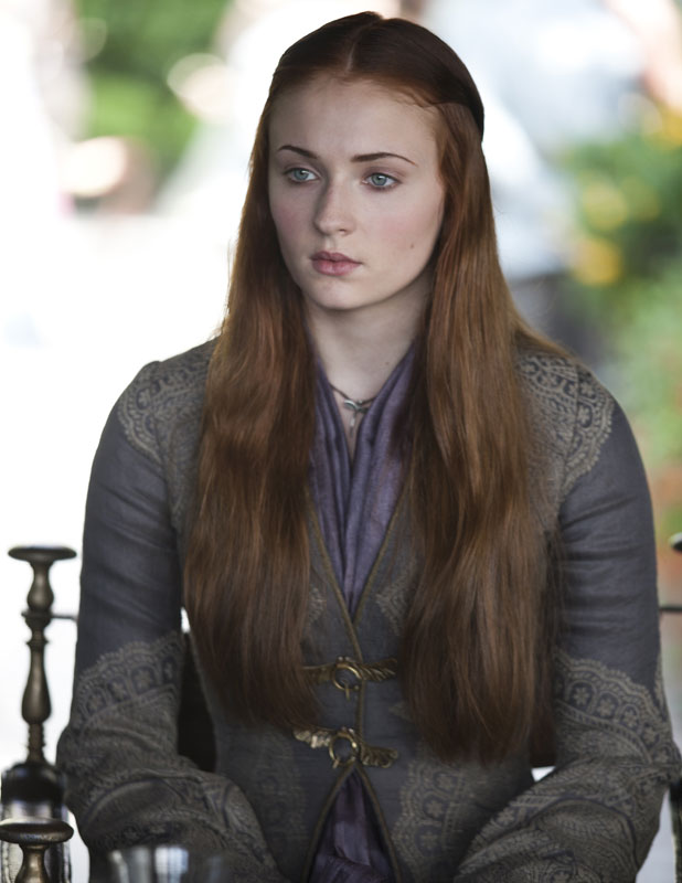 Sansa Stark in Game Of Thrones series three, DVD out on Blu-ray and DVD from HBO Home Entertainment, 17 February 2014