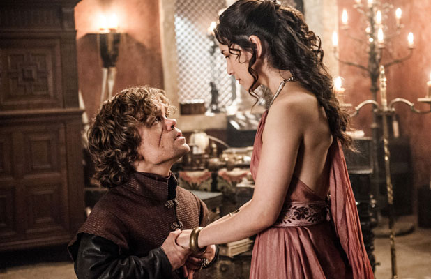 GAME OF THRONES: Peter Dinklage, Sibel Kekilli, The Bear and The Maiden Fair', (Season 3, ep. 304, aired May 12, 2013)