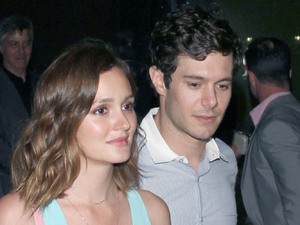 Leighton Meester talks working with husband Adam Brody