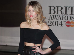 Peaches Geldof at the Brit Awards 2014, 19 February 2014