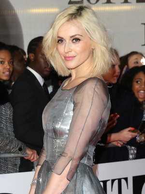 Fearne Cotton at The Brit Awards (Brit's) 2014 held at the O2 - Arrivals - 19 Feb 2014