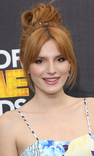 Bella Thorne at The Cartoon Network's Hall of Game Awards in Los Angeles, America, 15 February 2014
