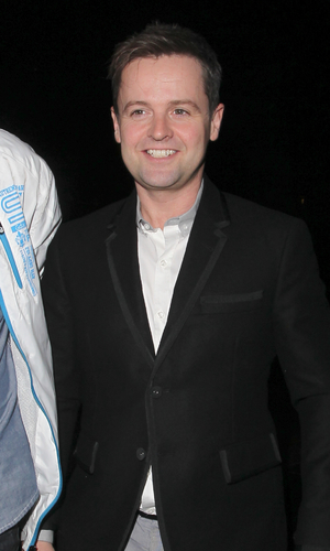 Declan Donnelly  arrives at the filming of Celebrity Juice with Ant. 02/17/2014 London, United Kingdom.