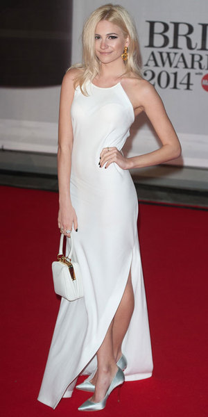 Pixie Lott at the Brit Awards 2014, 19 February 2014