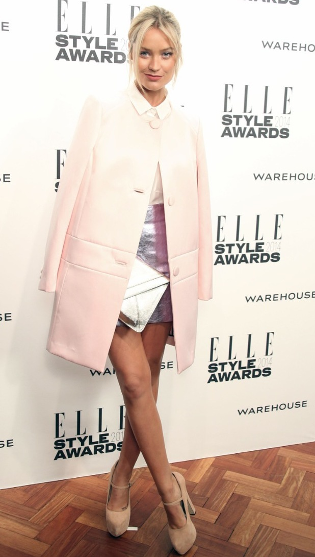 Laura Whitmore at the Elle Style awards
