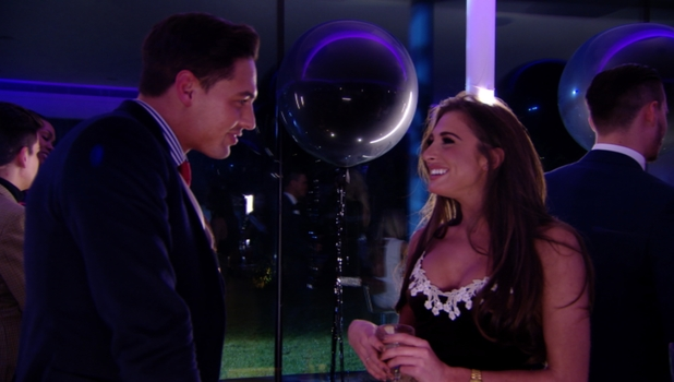 Mario Falcone flirts with new girl Grace Andrews on TOWIE, Sunday 23 February