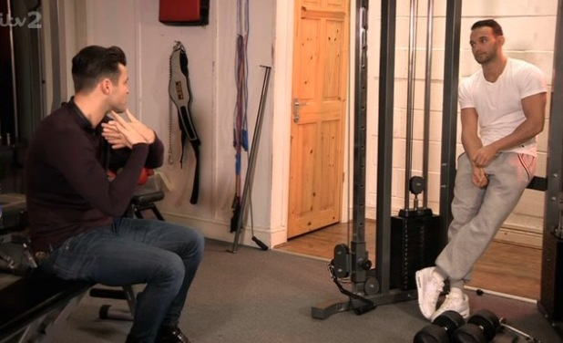 Mark Wright chats to Kenzie on The Big Reunion - 20 Feb 2014