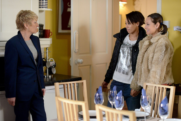 EastEnders, Tina brings Tosh for dinner, Tue 25 Feb