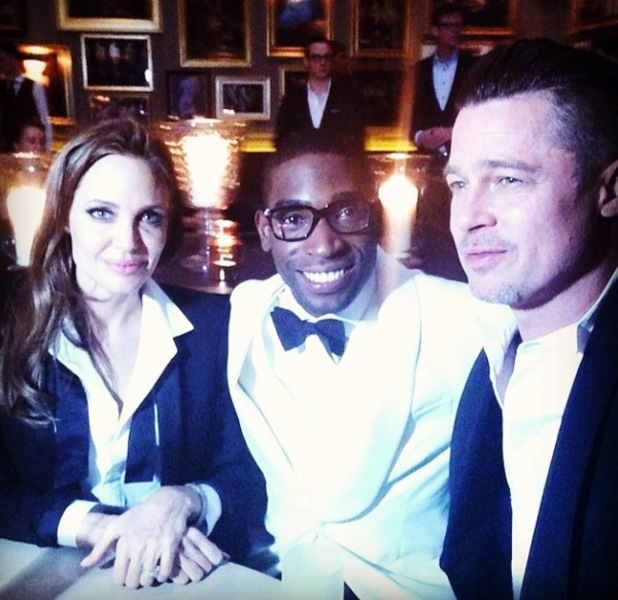 Tinie Tempah, Brad Pitt, Angeline Jolie at BAFTA Awards - 16.2.2014