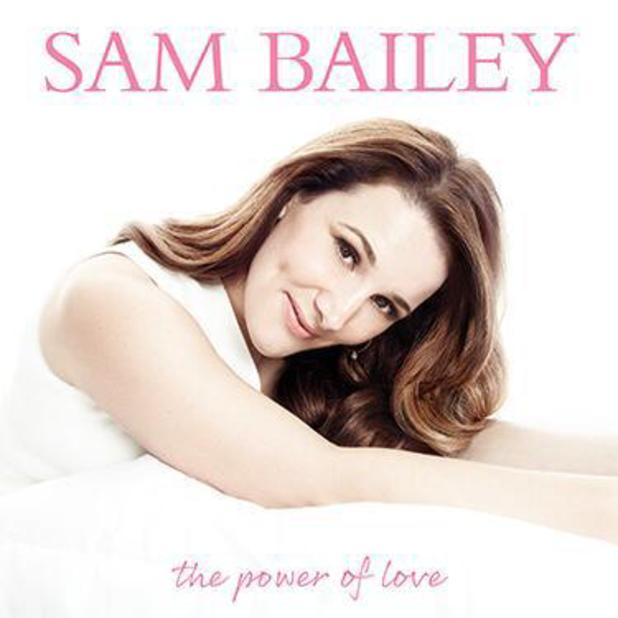 Sam Bailey unveils album artwork for The Power Of Love. (18 February 2014).