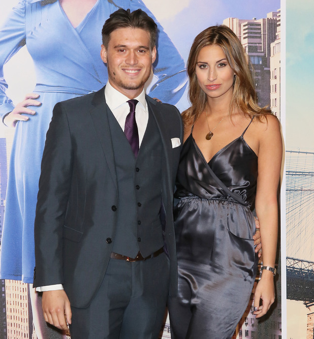 """Charlie Sims, Ferne McCann - The UK Premiere of """"Anchorman 2: The Legend Continues"""" at the Vue West End 12/11/2013"""